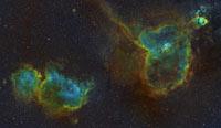 <b>IC1805 and IC184...